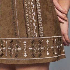 Abercrombie & Fitch Skirts - Abercrombie & Fitch Suede Mini Skirt
